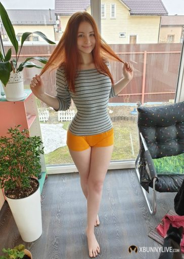 Welcome Smile Redhead